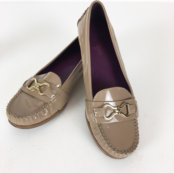 20926b23f4505 Cole Haan Loafers Shoes Flats Tan Patent Leather